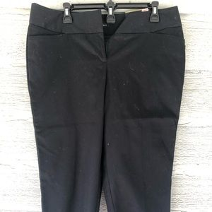 Worthington black capris pants